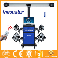 Hot sale 4 wheel intelligent sunshine wheel alignment equipment with CE IT661