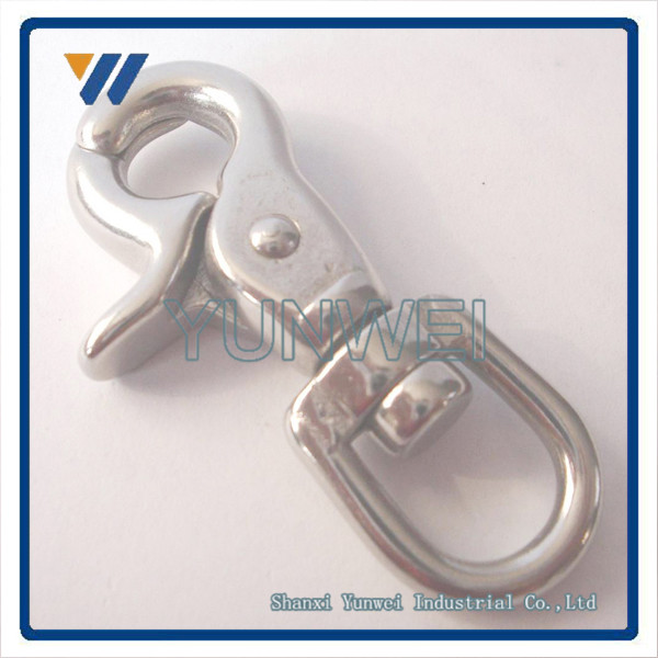 "CNC Precision Custom 1/2"" Dog Snap Hook From China"