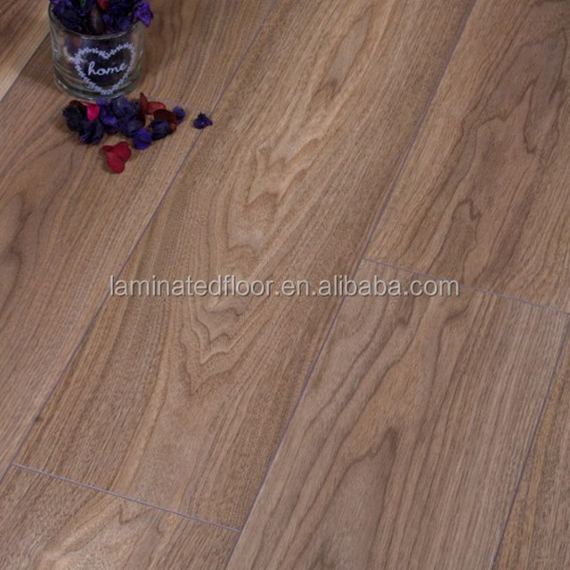 perfect for both residential and commercial Mansonia Walnut laminate floor