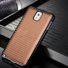Carbon fiber luxury case for galaxy note 3, cover for samsung galaxy n9005 note 3 iii, designer case for samsung galaxy note 3