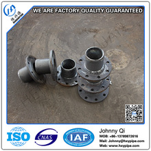 Customized DCI Pipe Fittings Metallic Zinc and Finished with Bitumen Flange Spigot PN10 PN16 DN150 for Sewage Rising Mains
