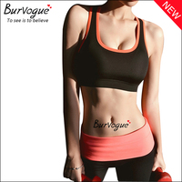 Cheap Wholesale Fashionable Seamless Running Crossover Sports Bra