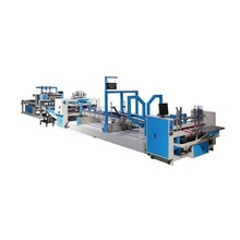 Full automatic carton folding and gluing machine