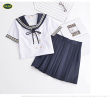 2017 cheap and good quality school girl uniform from guangzhou supplier