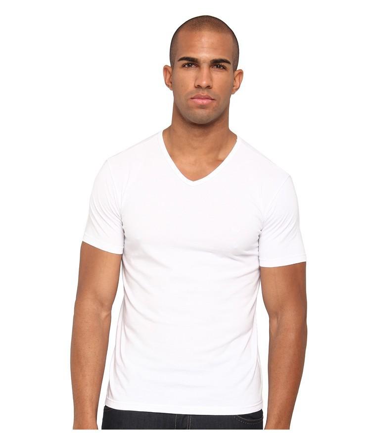 Men 39 s short sleeve v neck cheap bulk wholesale men 39 s plain for White t shirt bulk buy