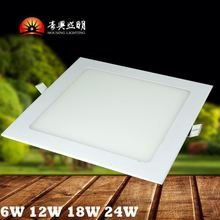 Super Slim Anti-HumidCE Approval 6' 12W LED Panel Lights Ceiling Down Light With Isolated Box For Driver