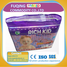 Hot Sale High Quality Disposable Baby Diapedrs magic baby diaper Cheap Bulk for sale