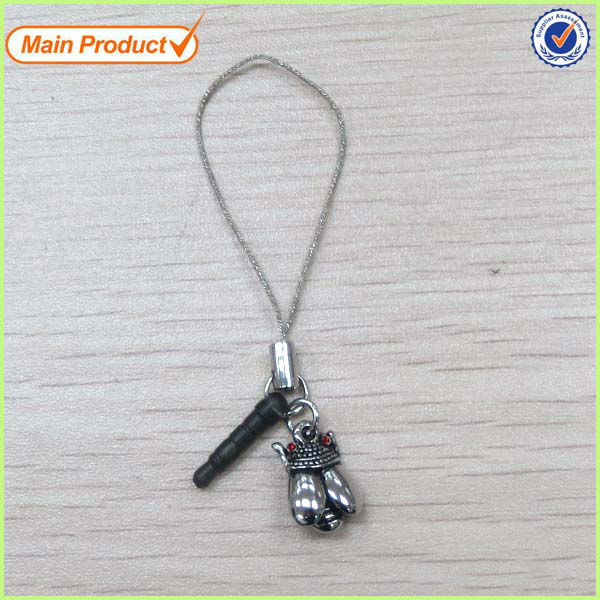 Cute Alloy Cheap Insect Charm Ear Jack Dust Plug For 3.5mm Phone #S56