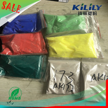Eco Friendly Smooth Chemical Resistant Candy Colors Powder Coating