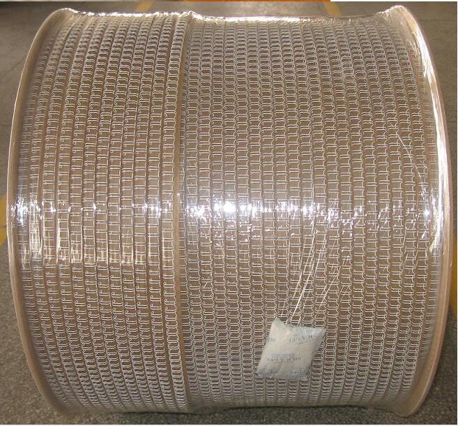 Kaiqi Various Size and White Color Double Wire Ring,Double Metal Spiral O Wire,