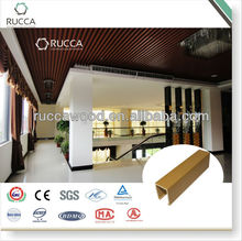 Interior WPC/Faux wood Ceiling Panel 40*55mm