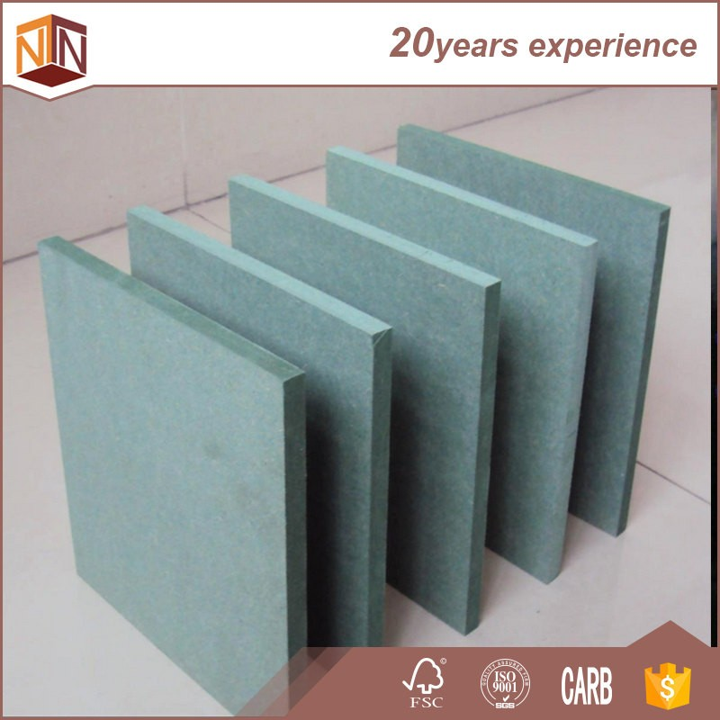 fsc 12mm 720kg/m3 hot sale waterproof medium density fiberboard