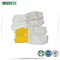 Sheepskin and Cotton Bee Gloves Beekeeping Tool Farm Tools and Equipment and Function