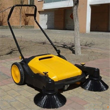 newest mini manual electric scooter industrial road floor street sweeper