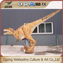 Promotional various durable using inflatable costume dinosaur