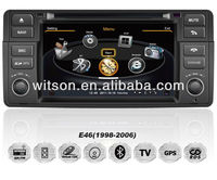 WITSON A8 Chipset car audio player for BMW E46 HD 1080P 1G CPU 512M RAM 3G modem/wifi/DVR (Option) with FM,AM,RDS