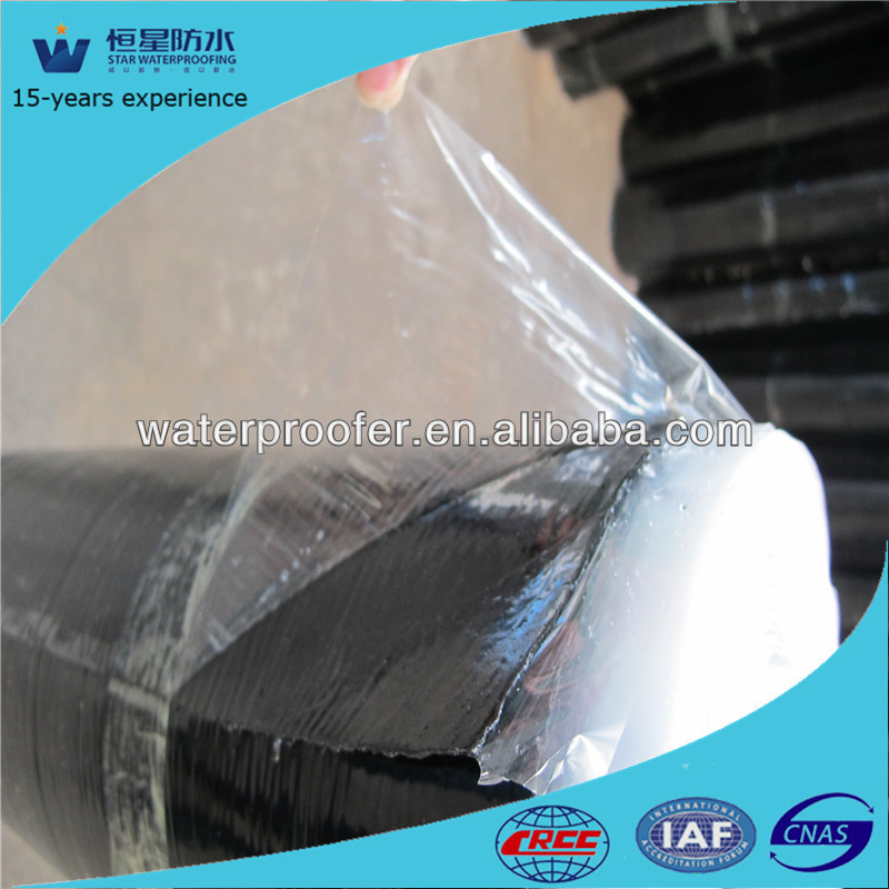 self-adhesive 1.2mm 1.5mm 2mm 3mm 4mm waterproofing rolling material
