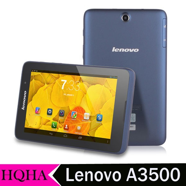 Original Lenovo A3500 Phone Call Tablets 7 Inch Quad Core Android 4.2 Wifi Camera Bluetooth 3G Tablet 16GB ROM