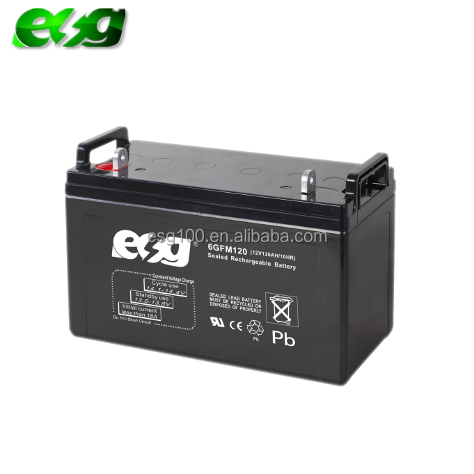 storage deep cycle Gel 12v 120ah battery for Solar Power UPS system