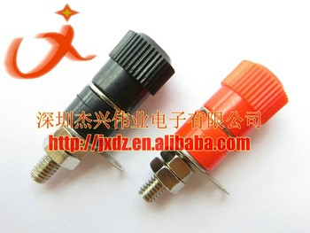 Binding post 33mm 4mm banana socket JS-910B 11.5mm diameter