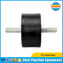 Vibration plate compactor rubber buffer