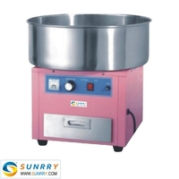 Electric candy floss machine for sale 460mm cotton candy machine maker (SUNRRY SY-CCM460A)