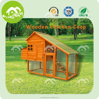 Cheap large chinese outdoor wooden chicken coop with run