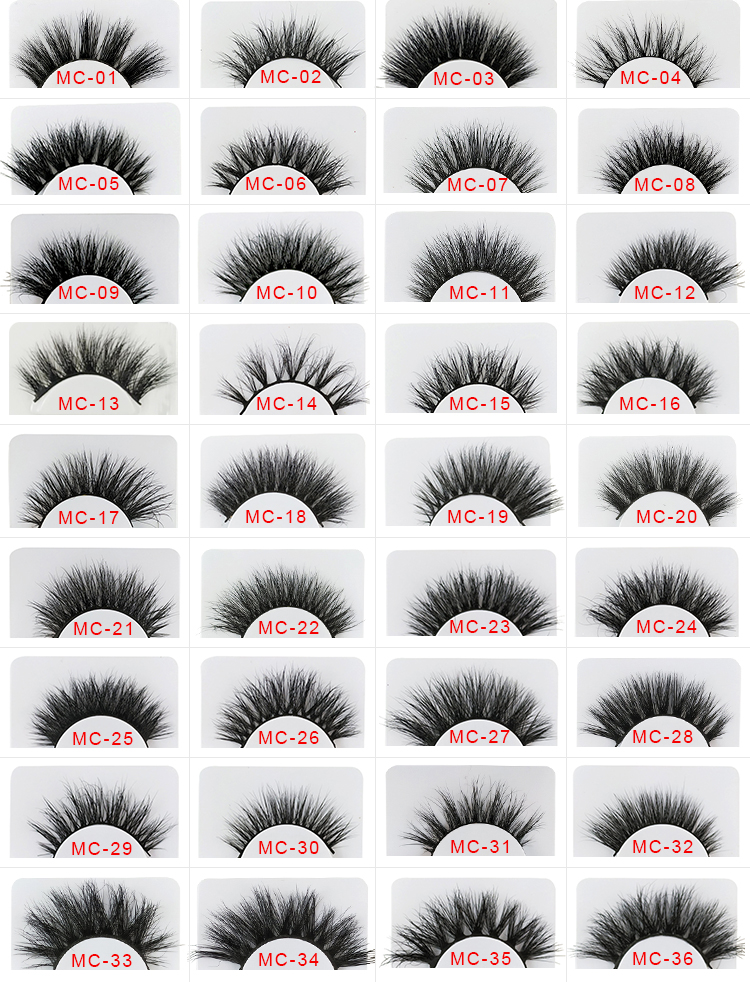 Magnetic box packaging natural looking wholesale mink eyelash cruelty free clear band 3d mink eyelashes 3d mink lashes
