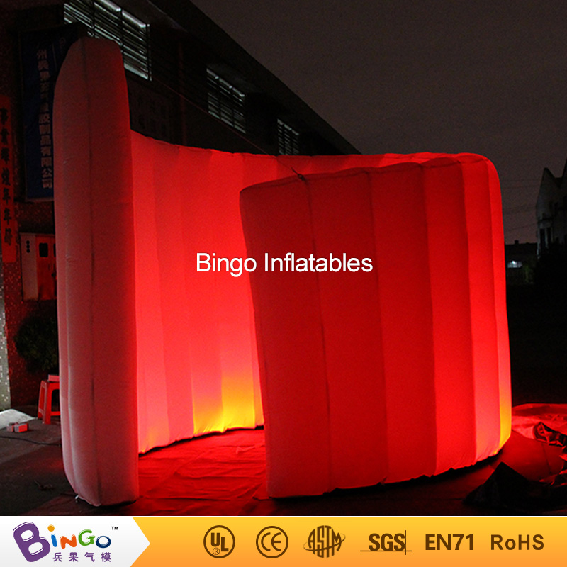 Indoor LED light inflatable walls for Bar Mitzvah
