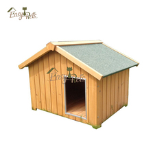 Handmade craft water-proof wooden dog kennel wholesale