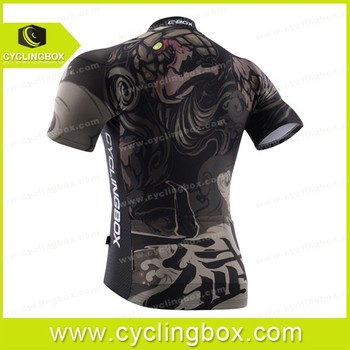 Fashion sublimation printing men's high quality bike short apparel/cycling kit/compression wear