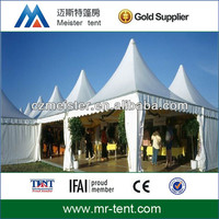 White aluminum structure booth tent