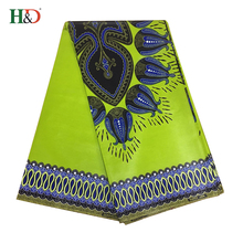 H & D Turkey Print 100% Cotton Super Java Wax Hollandais Kitenge Fabric For 2018 New Style