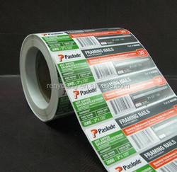 Top Quality Custom Design Adhesive sticker Testosteron Base
