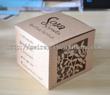 laser cut kraft paper boxes cookie boxes packaging for gifting made in china