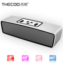 Aluminium bluetooth speaker for free android download google play store with 10W Hi-Fi sound, buid in passive radiator subwoofer