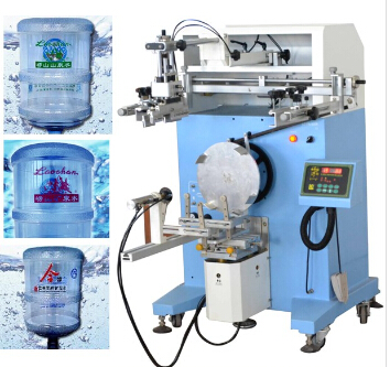 dongguan Mineral Water Bottle Serigrafia printing machine LC-PA-400N screen <strong>printer</strong> for bucket