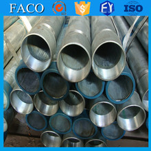 Tianjin gi pipes ! q235 galvanized steel pipe size hollow section ms galvanized pipe