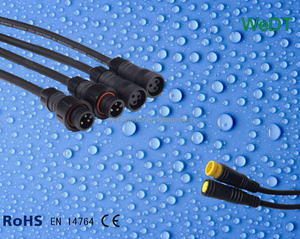 Waterproof Cables for electric bicycle higo connectors for electric bike conversion kit cables for bafang motor cables for MXUS