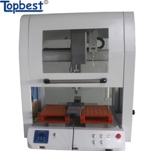 Topbest 2018 new design automatic soldering iron machine soldering tools