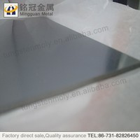 99.95% ground ASTM tungsten plates,sheet metal price supplier in China