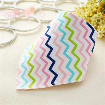 Double Layer Triangle Multifunctional Soft Cotton Confortable Baby Bibs