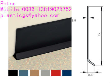 flexible sit on pvc cove skirting