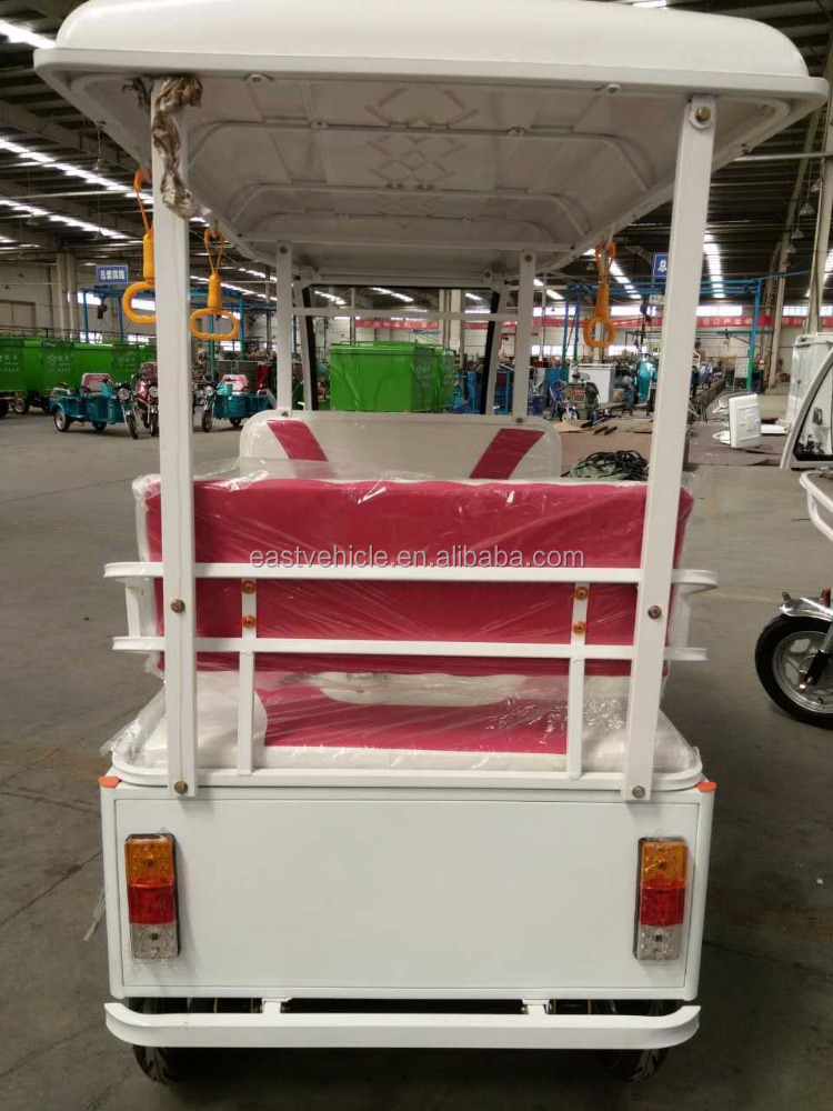 Electric Driving Type and1000W Power cargo tricycle bajaj rickshaw with cabin tuk tuk