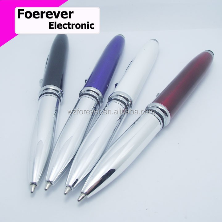 3 in 1 LED Flashlight Touch Stylus Pen