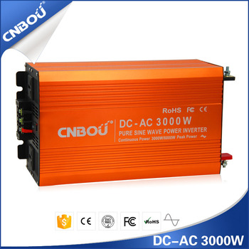 50HZ 24V 220V 3000W high frequency inverter