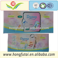 Mini cottony panty liners/mini pads