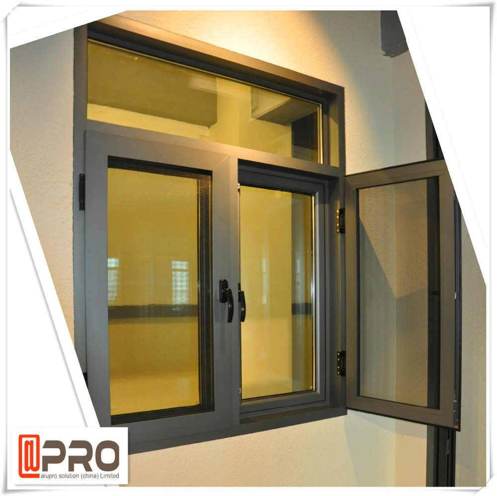 Apro Double Glazed Windows Side Hung Casement Window For