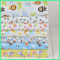 100% Cotton Printed both-side raised Fleece Fabric for Children and Baby