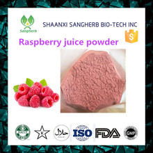 Organic raspberry juice concentrate powder for hot selling